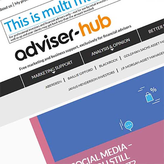 Adviser Hub - Website Design