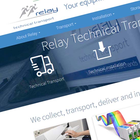 Relay- Website Design