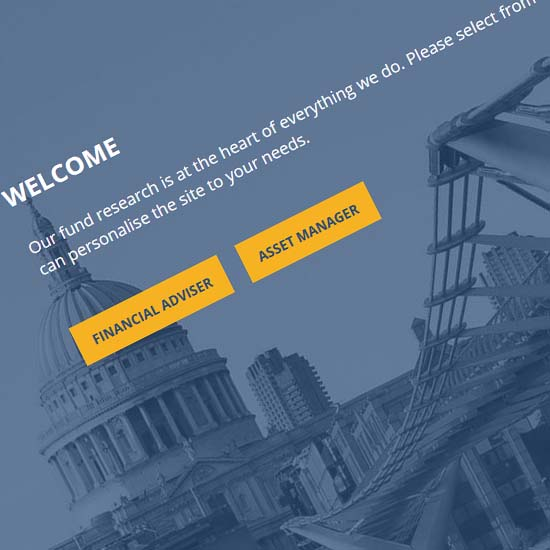 Square Mile Research - Website Design